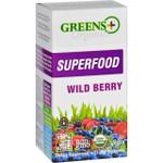 Greens Plus Superfood Organic Wild Berry 8 g 15 Stickpacks