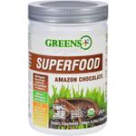 Greens Plus Superfood Powder Amazon Chocolate Organic 8.6 oz Case of 6
