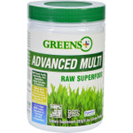Greens Plus Superfood Advanced Multi Raw 9.4 oz Case of 6