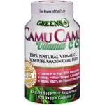 Greens Plus Camu Camu Vitamin C Caps 120 Vege Capsules