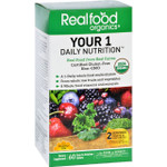 Realfood Organics Daily Nutrition Organic Your 1 60 Tablets