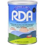 Lewis Lab RDA Vitamin Mineral Protein Powder 16 oz
