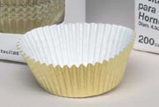 Ateco Gold Baking Cups 1 Inch
