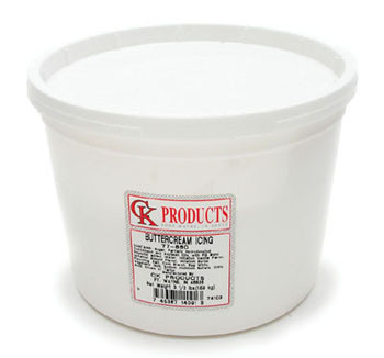 CK Products Buttercream Frosting 3 1/2 Lbs Ready To Use