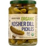 Woodstock Kosher Dill S Pickles (6x24 Oz)