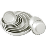 "Fat Daddio's Contour cake pan rounded bottom edge 6""x3"" Box of 6"