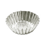 "Fat Daddio's Mini Tartlette Pan, Solid Bottom, 2 3/4"" diameter x 3/4"" deep (approx 25 per pack)"