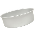 "Fat Daddio's Round cake pan solid bottom 12""x3"""