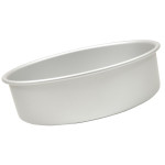 "Fat Daddio's Round cake pan solid bottom 3""x3"""