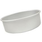 "Fat Daddio's Round cake pan solid bottom 5""x3"" Box of 6"