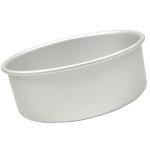"Fat Daddio's Round cake pan solid bottom 5""x4"""