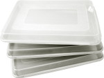 "Fat Daddio's Plastic lid for half sheet pan 13"" x 18"" x 1 3/4"""