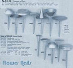 Ateco # 910 Witches Hat Rose Flower Nail