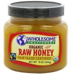 Wholesome Sweeteners Raw Honey Fair Trade (6x16 Oz)