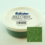 TruColor Confectioners Special Sanding Sugar (Med. Crystals) Holly Green (12x8oz)