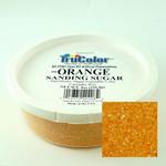 TruColor Confectioners Special Sanding Sugar (Med. Crystals) Orange (12x8oz)