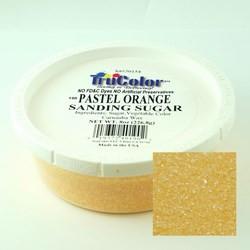 TruColor Confectioner's Sanding Sugar (Fine Crystals) Pastel Orange (1x8 oz)