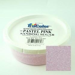 TruColor Confectioner's Sanding Sugar (Fine Crystals) Pastel Pink (1x8 oz)