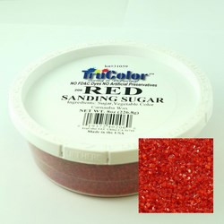 TruColor Natural Sanding Sugars Red (1x8 oz)