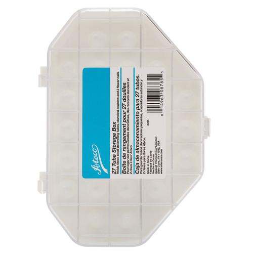 Ateco Tube Storage Box Holds 27 Small Tubes