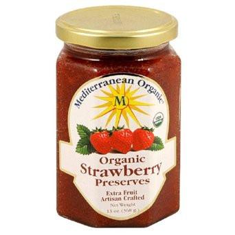 Mediterranean Organics Strawberry Preserves (12x13 Oz)