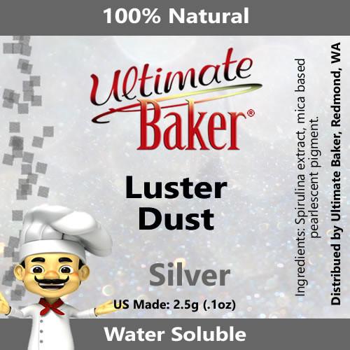 Ultimate Baker Luster Dust Silver (1x2.5g)