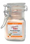 Ultimate Baker Natural Powdered Sugar Orange (1x2oz Glass)