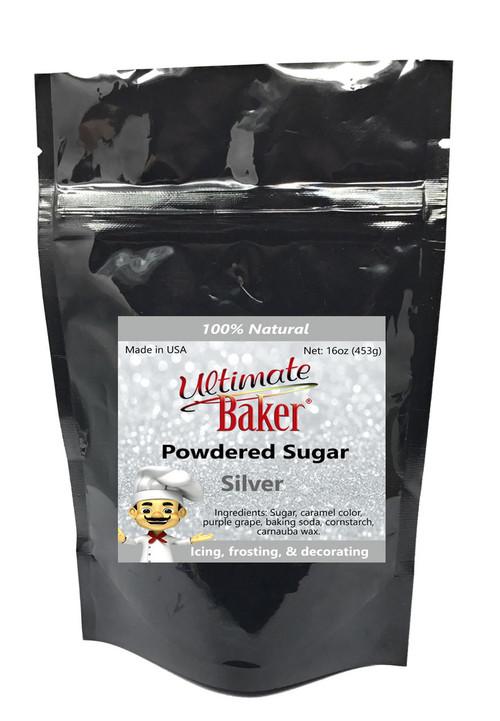 Ultimate Baker Natural Powdered Sugar Silver (1x1lb)