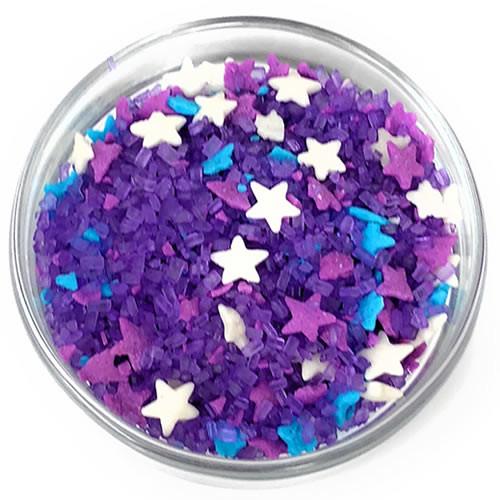 Ultimate Baker Edible Glitter Purple Delight (1x8oz)