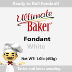Ultimate Baker White Fondant (1x1.1lbs)