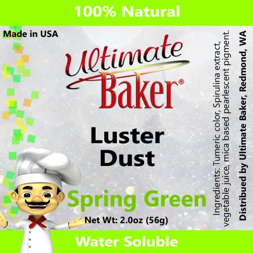 Ultimate Baker Luster Dust Spring Green (1x56g)