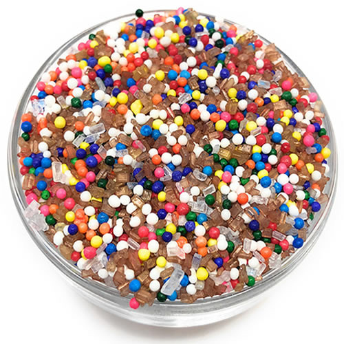 Ultimate Baker Edible Glitter Sprinkled Rainbow (1x8oz)