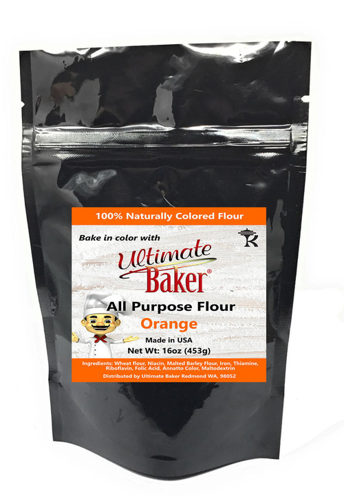 Ultimate Baker All Purpose Flour Orange (1x1lb)