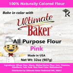 Ultimate Baker All Purpose Flour Pink (1x2lb)
