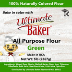 Ultimate Baker All Purpose Flour Green (1x5lb)
