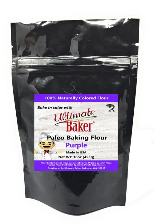Ultimate Baker Paleo Baking Flour Purple (1x1lb)