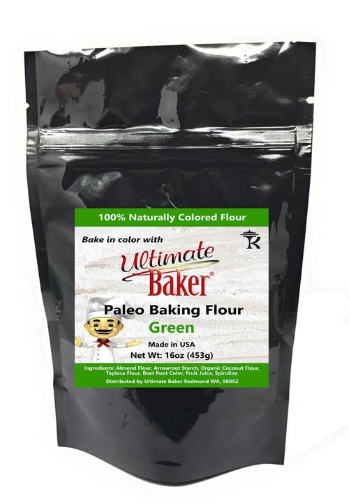 Ultimate Baker Paleo Baking Flour Green (1x1lb)