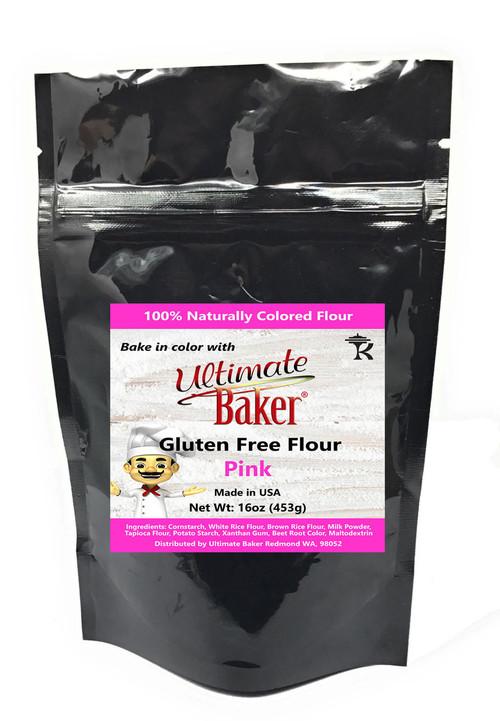 Ultimate Baker Gluten Free Baking Flour Pink (1x1lb)