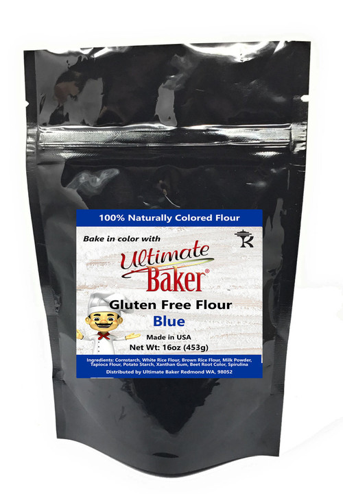 Ultimate Baker Gluten Free Baking Flour Blue (1x1lb)