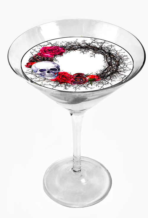 Snowy River Cocktail Toppers Wreath (1x6Pack)
