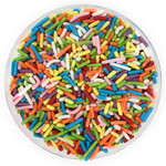 Ultimate Baker Sprinkles Rainbow (1x3oz Glass)