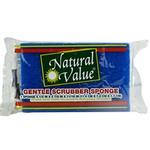 Natural Value Gentle Scrubber Sponge (24x1CNT )