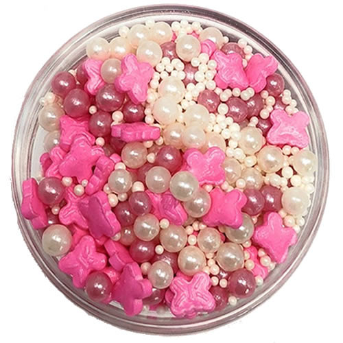 Ultimate Baker Sprinkles Butterfly Delight (1x1Lb Bag)