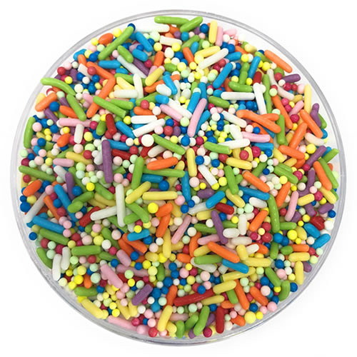 Ultimate Baker Sprinkles Sprinkle Time (1x2Lb Bag)