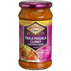 Patak's Tikka Masala Curry Cooking Sauce, Medium (6x15Oz)