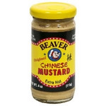 Beaver Chinese Hot Mustard (12x4Oz)