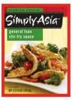 Simply Asia General Tsa Stir Fry Sauce (6x4.22 Oz)