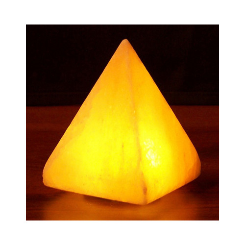 Himalayan Salt Pyramid Salt Lamp USB 3.5 in