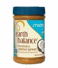 Earth Balance Creamy Coconut Peanut Butter (12x16 Oz)
