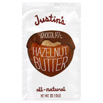 Justin's Chocolate Hazelnut Butter Squeeze Pack (60x1.15OZ )